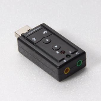 ซาวด์การ์ด USB เสียงดี USB Sound card External USB Virtual 7.1(ของแท้)