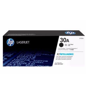 HP 30A ตลับหมึกโทนเนอร์ สีดำ ของแท้ (CF230A)
