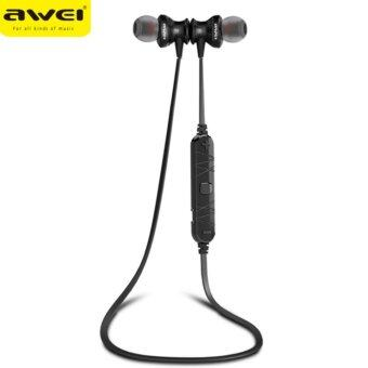 AWEI หูฟัง Bluetooth Sports Earphone For Call And Music A980BL