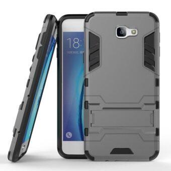 โทรศัพท์ลูกผสม BYT TPU+PC Neo เคสสำหรับ Samsung Galaxy J5 นายก/บน 5( 2559) (สีเทา)