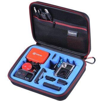 Gopro กระเป๋าสำหรับกล้อง Gopro Case รุ่น G160s ไซส์ L - สีดำฟ้า