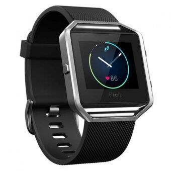 Fitbit Blaze Smart Fitness Watch เล็ก (สีดำ / เงิน)