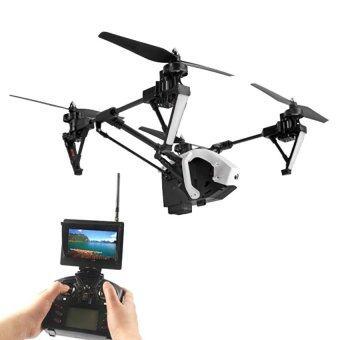 Symaโดรนบังคับ โดรนติดกล้องWLToys Q333-A Future-1 5.8G FPVรุ่นท็อป โดรน4ใบพัด ปรับขาขึ้น-ลงได้2.4G 4CH(สีขาว)