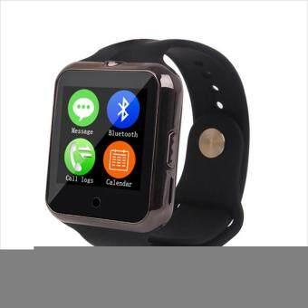 แจ้งเตือนการซิงก์ Smart Clock Sync C88 เครื่องวัดอัตราการเต้นหัวใจ SmartWatch (สีดำ) - intl
