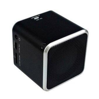 Music Angel ลำโพงบลูธูทพกพาขนาดเล็ก รุ่น JH-MD06BT2 (Black) ประกันศูนย์ไทย