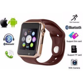 Person นาฬิกาโทรศัพท์ Bluetooth Smart Watch รุ่น A8 Phone watch-Gold