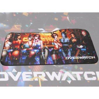 แผ่นรองเมาส์ ลายเกม Overwatch