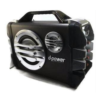 D-power ลำโพงบูลทูธ Bluetooth Speaker FM Suppored 30W รุ่น K52B