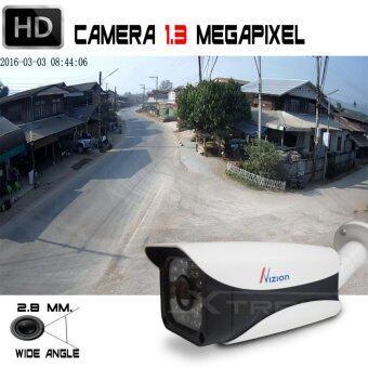 XTREME กล้องวงจรปิด CCTV Bullet IR-Camera 1.3 ล้านพิเซล HD 720P Analog / AHD / TVI / CVI คมชัดทั้งกลางวันและกลางคืน ด้วยระบบ Smart IR LED / IR CUT กันน้ำได้ IP66 (สีขาว) (image 3)