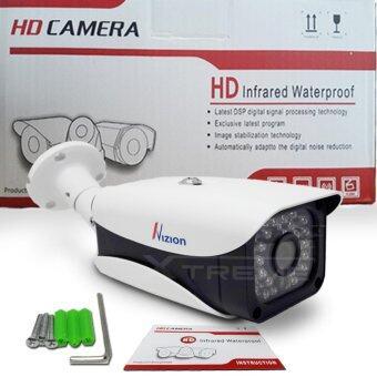 XTREME กล้องวงจรปิด CCTV Bullet IR-Camera 1.3 ล้านพิเซล HD 720P Analog / AHD / TVI / CVI คมชัดทั้งกลางวันและกลางคืน ด้วยระบบ Smart IR LED / IR CUT กันน้ำได้ IP66 (สีขาว) (image 4)
