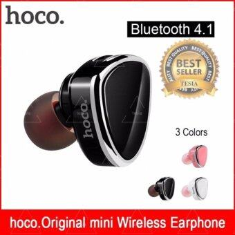 tesia ของแท้100% HOCO E7 หูฟังบลูทูธ ไร้สาย Premium Earphone Bluetooth V4.1