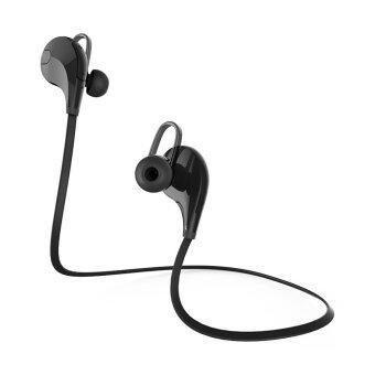 ไร้สายบลูทูธ V4.0 ชุดหูฟัง (สีดำ)-ระหว่างประเทศ