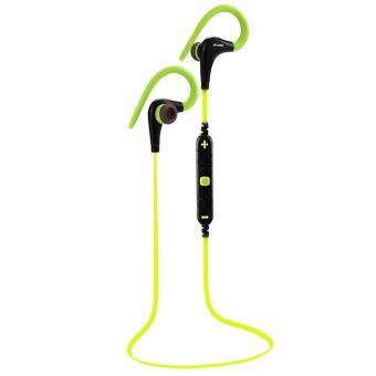 Awei หูฟังบลูทูธ Wireless Smart Sports Stereo รุ่น A890BL (สีเขียว)