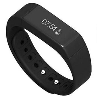I-Smart Smart Watch นาฬิกาสุขภาพอัจฉริยะ Activity Tracker รุ่น I5 Plus (Black)