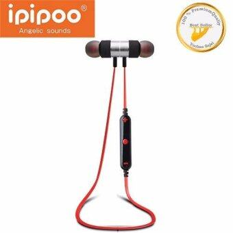 Awei IPIPOO รุ่น iL92BL Wireless Bluetooth Sports Stereo Earphone (แดง)(Red)