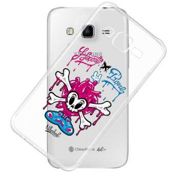 AFTERSHOCK TPU Case Samsung Galaxy J5 2015 (เคสใสพิมพ์ลาย Heart Bone) / Thin 0.33 mm