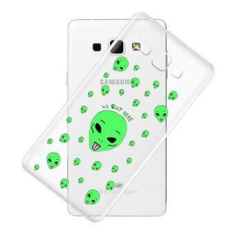 AFTERSHOCK TPU Case Samsung Galaxy J5 2016 (เคสใสพิมพ์ลาย alien) / Thin 0.33 mm