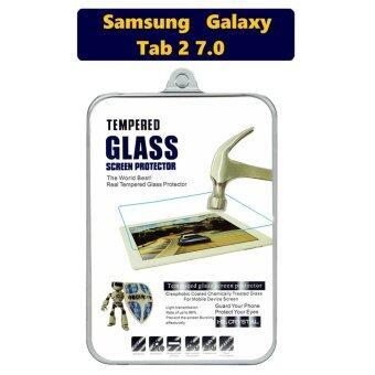 HD Crystal ฟิล์มกระจกนิรภัย Tablet เกรดพรีเมี่ยมแบบใส สำหรับ Samsung Galaxy Tab 2 7.0