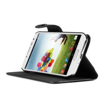 GMYLE เคสหนังซัมซุง Samsung Galaxy S4 (สีดำ)