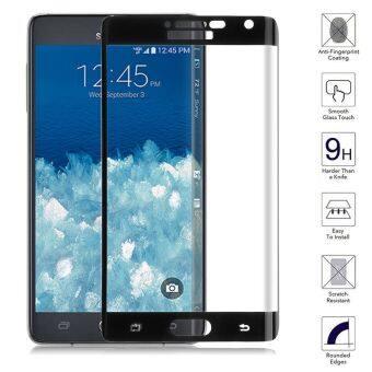 ครอบแก้วเป็นอารมณ์แบบฟิล์มกันรอยหน้าจอสำหรับ Samsung Galaxy Note Edge-สีดำ