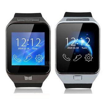 Person นาฬิกาโทรศัพท์ Smart Watch รุ่น A9 Phone Watch แพ็ค 2 ชิ้น (Black/Sliver)