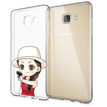 HugCase TPU เคส Samsung Galaxy A7 2016เคสโทรศัพท์พิมพ์ลาย Challenges เนื้อบาง 0.3 mm