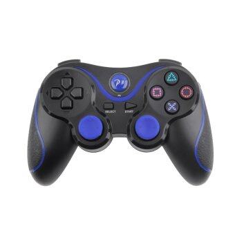 จอยไร้สายบลูทูธยังไม่ระบุค่ะเบาะคอนโซลเกมคอนโทรลเลอร์สำหรับ Playstation PS3 (สีดำ)
