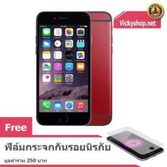 REFURBISHED Apple iPhone6 16 GB – Black Red ฟรี ฟิล์มกันรอยนิรภัย