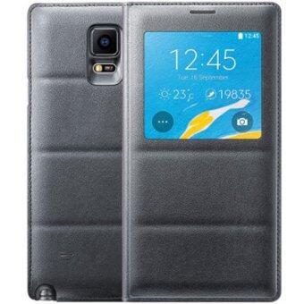 ข่าวหนังอีกเคสสำหรับ Samsung Galaxy Note 4 N9100 (สีดำ)