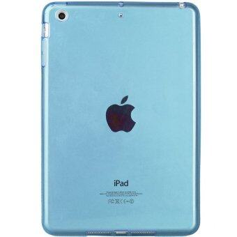 1st Cyber เคสไอแพดแอร์2 Transparent Soft TPU Back Case Cover Skin Shell for Apple iPad Air2 (Blue)