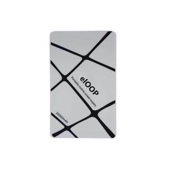 Eloop Power Bank แบตสำรอง พาวเวอร์แบงค์ ชาร์จไว ขนาดเล็ก Mini Power Suppy Portable 20000mAh (white)