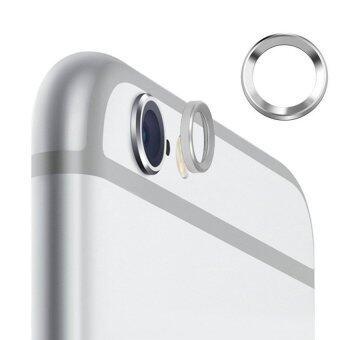 All Mate วงแหวนครอบเลนส์ iPhone 6 - สีเงิน