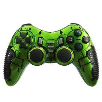 จอยเกมส์ ไร้สาย Joy Gaming Control Wireless USB 5 in 1 (Green)