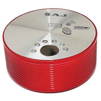AJ-922 FM ลำโพงพกพา (red)