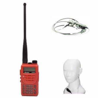 ICHITSU วิทยุสื่อสาร RW245 อุปกรณ์ครบชุด ป้องกันน้ำเข้า IP66 5 watts ถูกกฏหมาย พร้อม ไมค์หูฟัง FBI ECHO2 เกรด A