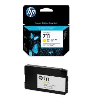 HP 711 29-ml Yellow Ink Cartridge (สีเหลือง)