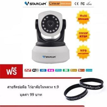 i-UniqueVstarcam กล้องวงจรปิด IP Camera รุ่นC7824 1.0 Mp แถมฟรี สายรัดข้อมือไว้อาลัยในหลวง ร.9 มูลค่า 99 บาท