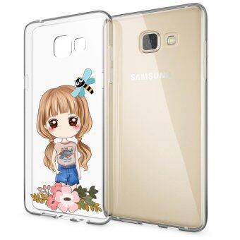 AFTERSHOCK TPU Case Samsung Galaxy A5 2016 (เคสใสพิมพ์ลายI'm a gril 3) / Thin 0.33 mm