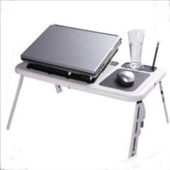 โต๊ะวางโน๊ตบุ๊ค - สีขาว