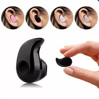 I Gou Mini Bluetooth4.1 เล่นเพลง ฟังเพลง รับสาย วางสายสนทนาได้ ขนาดเล็กเท่าหู (Black)