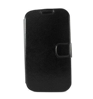 ACT เคส Samsung Galaxy Grand 1 I9082 แบบมีหน้าต่างดูเวลา 2 ช่อง สีดำ Black