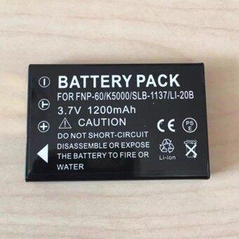แบตกล้อง รหัสแบต NP-60 FNP60 / Sam SLB-1037 แบตเตอรี่กล้องฟูจิ Battery for Fuji FinePIX 50i 601/F401 Zoom F601 F601Z