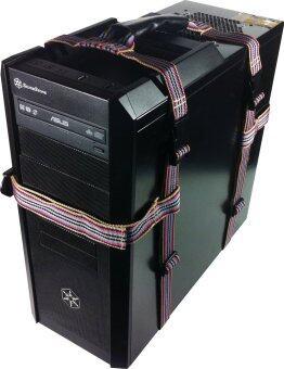 Storm PC Case Straps Holder สายรัดเครื่อง PC - Red