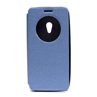 ASUS เคส Zenfone 5 sleep mode function (สีน้ำเงิน)
