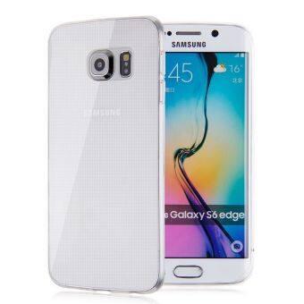 นุ่ม TPU 0.3มมขนาดเล็กฝาเคสใสนุ่มสำหรับ Samsung Galaxy S6 Edge G925 เคลียร์ (ต่างประเทศ)