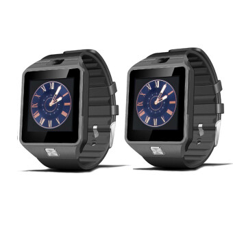 Smart Watch Z นาฬิกาโทรศัพท์ Smart Watch รุ่น A9 Phone Watch แพ็ค 2 ชิ้น (BLACK)