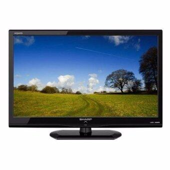 Sharp AQUOS 24 นิ้ว Full HD LED TV รุ่น LC-24LE150M แถมสาย HDMI 1 เส้น มูลค่า 490 บาท(Black)