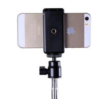 โทรศัพท์มือถือมือถือทั่วไป iPhone วงเล็บตัวหนีบสำหรับขาตั้ง/โมโนบูธ (สีดำ)