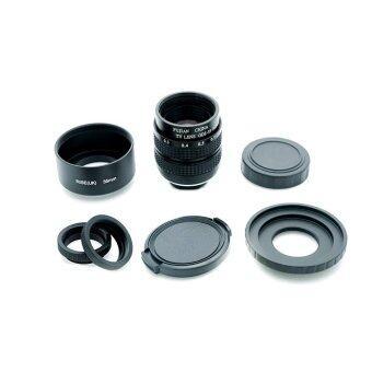 Fujian 35mm f/1.7 CCTV Lens for M4/3 mount camera (Black)