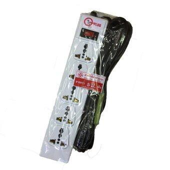 Gplug ปลั๊กไฟ มาตรฐาน 5ช่อง 1สวิทซ์ 5เมตร